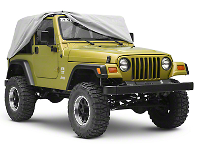 Rugged Ridge Weather Lite Cab Cover (87-06 Jeep Wrangler YJ & TJ)