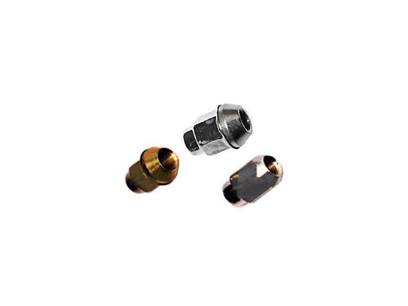 Omix-ADA Wheel Nut Right Thread Chrome (87-18 Jeep Wrangler YJ, TJ & JK)