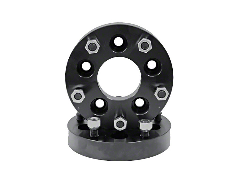 Rugged Ridge 1-3/8 in. Wheel Adapters - 5x5 to 5.5x5 (07-18 Jeep Wrangler JK)