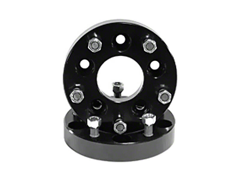 Rugged Ridge 1.375 in. Aluminum Wheel Adapters - 5x5 to 5x4.5 (07-18 Jeep Wrangler JK)