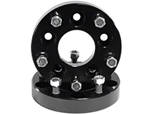 Rugged Ridge 1.375 in. Aluminum Wheel Adapters - 5x5 to 5x4.5 (07-18 Jeep Wrangler JK)
