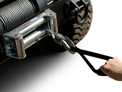 Rugged Ridge Winch Cable Handle - Black