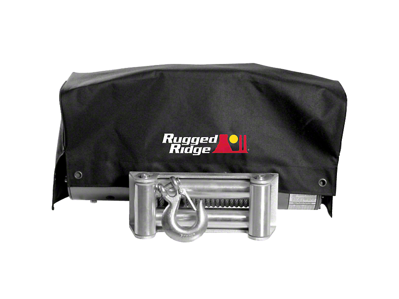 Rugged Ridge 8,500 lb. or 10,500 lb. or 12,500 lb. Winch Cover