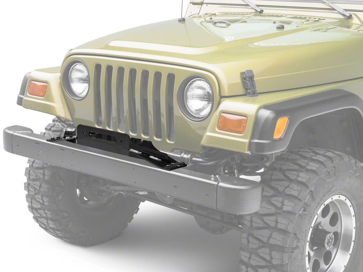 Winch For Jeep >> Smittybilt Winch Plate 97 06 Jeep Wrangler Tj