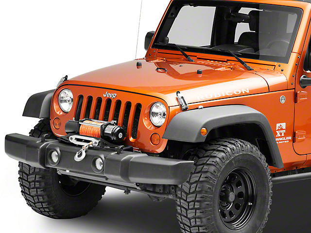 Winch For Jeep >> Smittybilt Jeep Wrangler Winch Plate 2804 07 18 Jeep Wrangler Jk