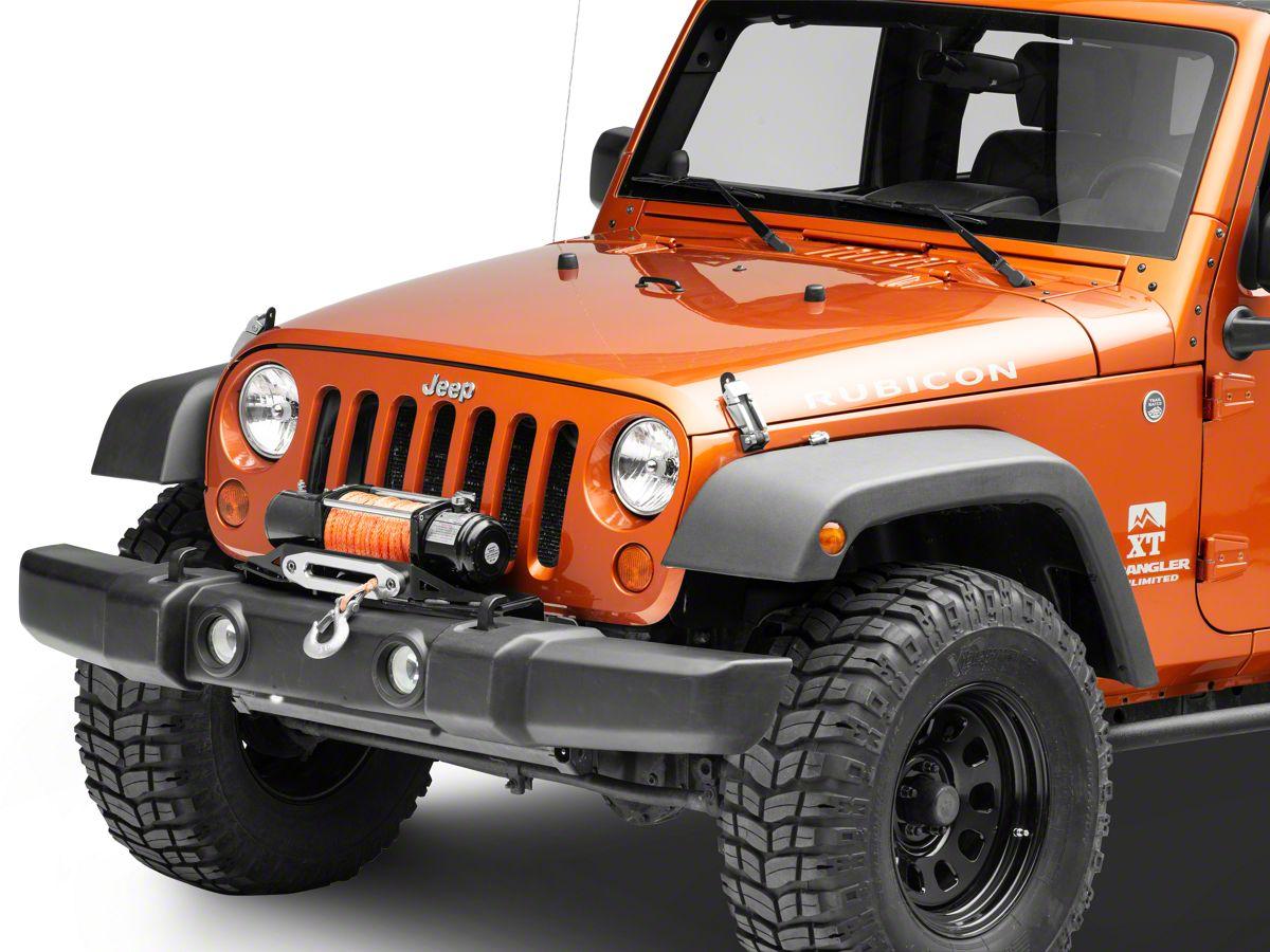 Winch For Jeep >> Smittybilt Winch Plate 07 18 Jeep Wrangler Jk
