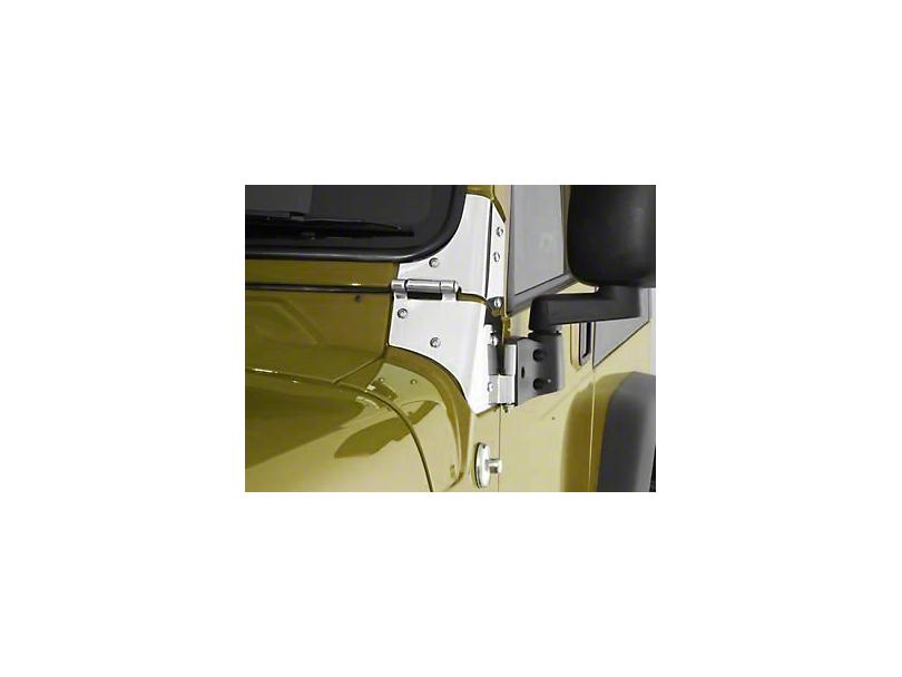 Smittybilt Windshield Hinge Set (97-06 Jeep Wrangler TJ)