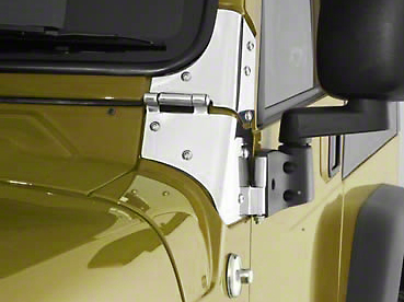 Smittybilt Windshield Hinge Set (97-06 Jeep Wrangler TJ)