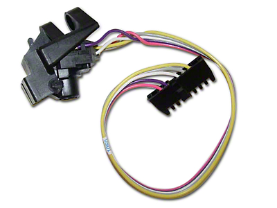 Omix-ADA Wiper Switch w/o Intermittent Wipers or Steering Tilt (87-95 Wrangler YJ)
