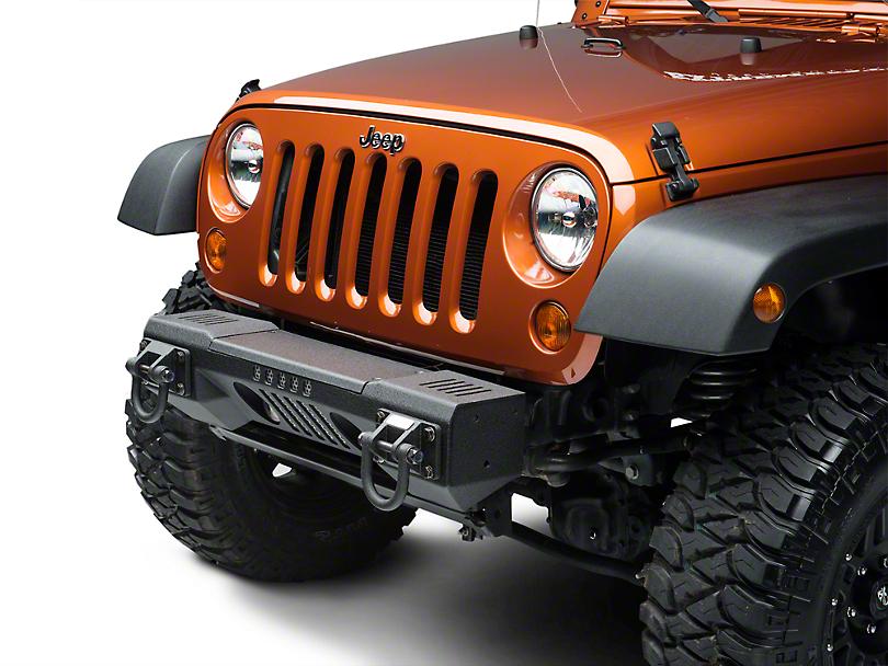 Rugged Ridge XHD Aluminum Non-Winch Front Bumper (07-18 Jeep Wrangler JK)