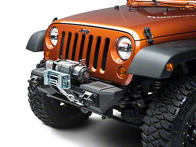 Rugged Ridge XHD Aluminum Front Winch Bumper (07-18 Jeep Wrangler JK)
