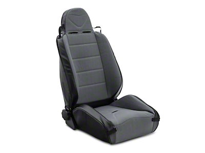 Rugged Ridge XHD Off Road Reclining Front Seat - Black/Gray (97-06 Jeep Wrangler TJ)