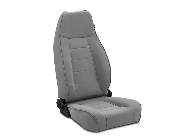 Rugged Ridge XHD Reclining Front Seat - Gray (97-06 Jeep Wrangler TJ)