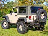 Rugged Ridge XHD Replacement Soft Top w/ Tinted Windows - Black Diamond (07-09 Jeep Wrangler JK 2 Door)