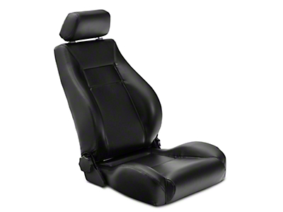 Rugged Ridge XHD Ultra Reclining Front Seat - Black (97-06 Jeep Wrangler TJ)
