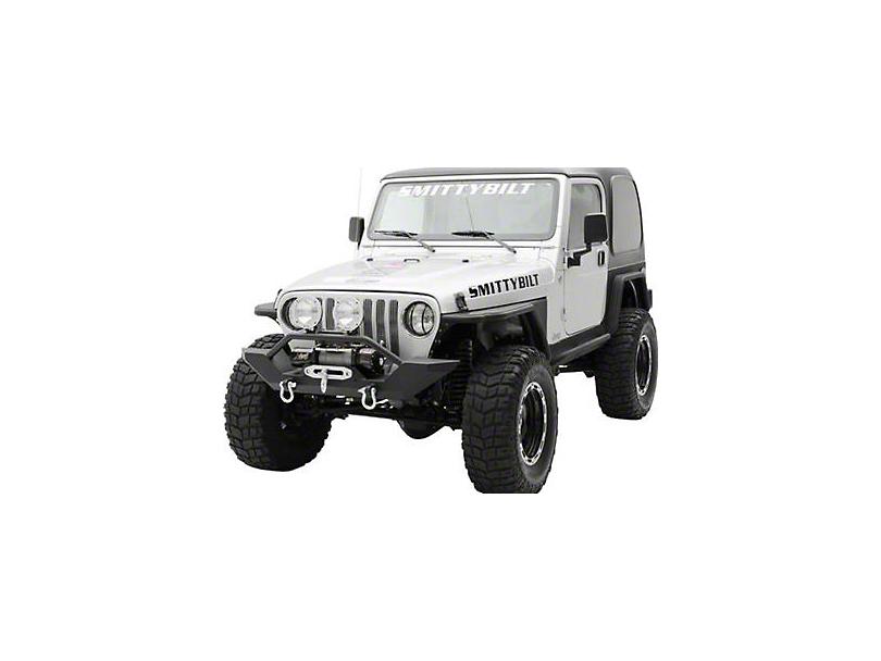 Smittybilt XRC Front Bumper w/ D-Ring Mounts (87-95 Jeep Wrangler YJ)