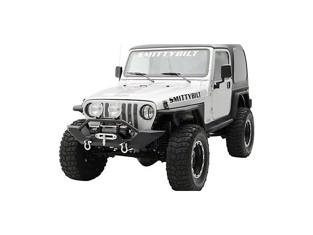 Smittybilt XRC Front Bumper with D-Ring Mounts (87-95 Jeep Wrangler YJ)