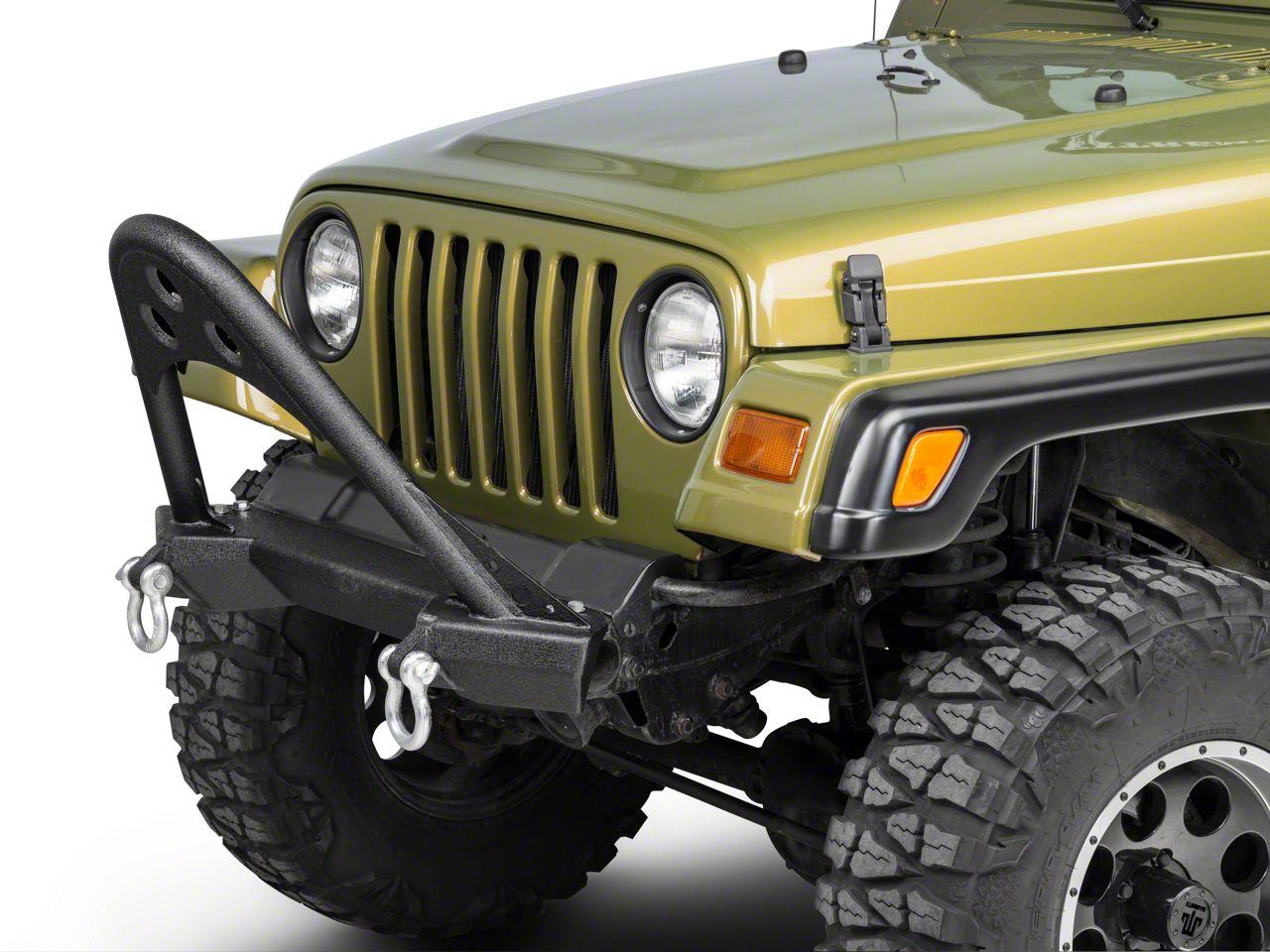 Smittybilt SRC Front Stinger Bumper (87-06 Jeep Wrangler YJ & TJ)