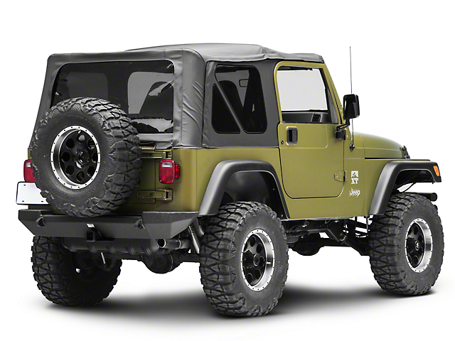 Smittybilt XRC Rear Bumper (87-06 Jeep Wrangler YJ & TJ)