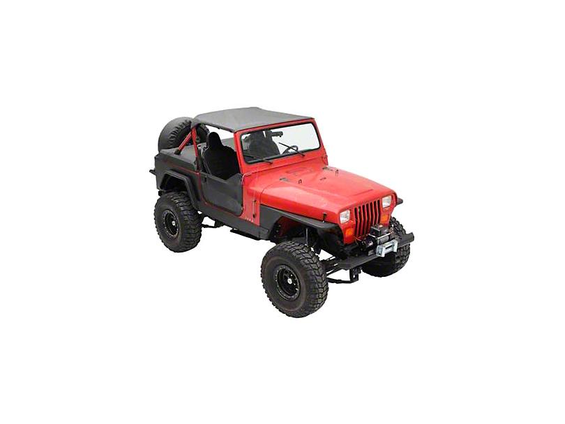 Smittybilt XRC Rock Sliders (87-95 Jeep Wrangler YJ)