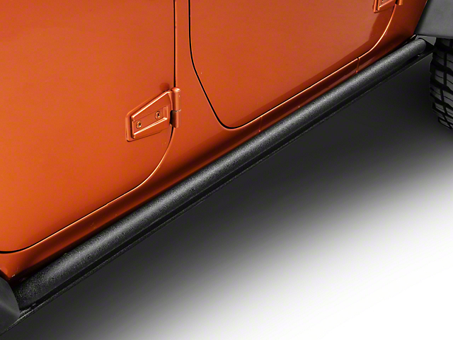 Smittybilt XRC Rock Sliders - Black Textured (07-18 Jeep Wrangler JK 4 Door)