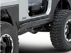 Smittybilt XRC Rock Sliders with Tube Step (87-95 Jeep Wrangler YJ)