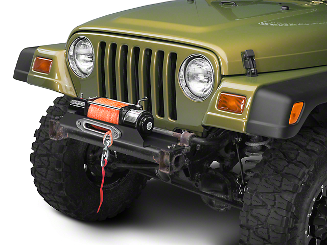 Rough Country X-Series Flat Winch Plate (87-06 Jeep Wrangler YJ & TJ)