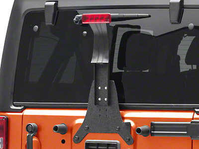 Rugged Ridge Third Brake Light Extension (07-18 Wrangler JK; 2018 Wrangler JL)