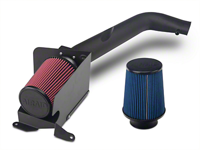 Airaid Cold Air Dam Intake w/ SynthaMax Dry Filter (03-06 2.4L Wrangler TJ)