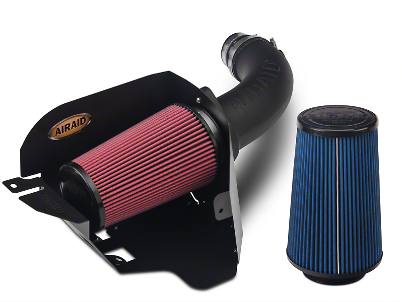 Airaid Cold Air Dam Intake w/ SynthaMax Dry Filter (07-11 3.8L Jeep Wrangler JK)
