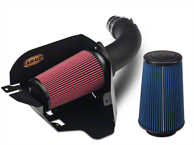 Airaid Cold Air Dam Intake w/ SynthaMax Dry Filter (07-11 3.8L Wrangler JK)