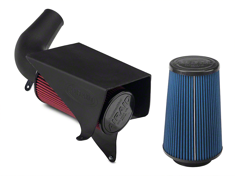 Airaid Classic Performance Cold Air Intake w/ SynthaMax Dry Filter (97-04 2.5L or 4.0L Jeep Wrangler TJ)