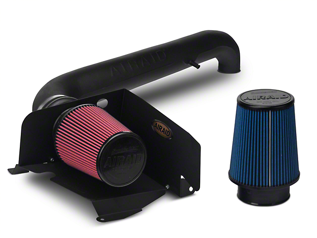 Airaid Cold Air Dam Intake w/ SynthaMax Dry Filter (97-06 4.0L Jeep Wrangler TJ)