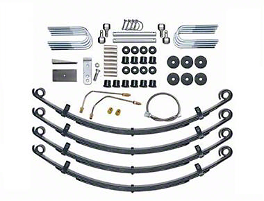 Rubicon Express 2.5 in. Leaf Spring Lift Kit (87-95 Wrangler YJ)