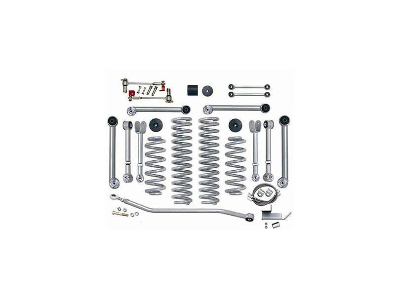 Rubicon Express 3.5 in. Short Arm Lift Kit w/o Shocks (97-06 Jeep Wrangler TJ)