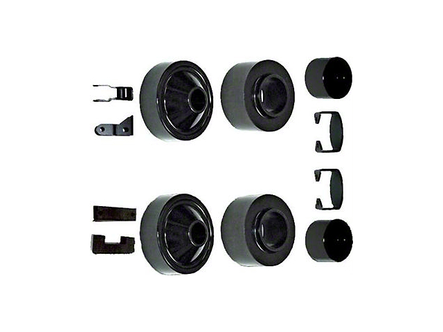 Rubicon Express 2 in. Economy Lift Kit w/ Shock Extensions (07-18 Jeep Wrangler JK)
