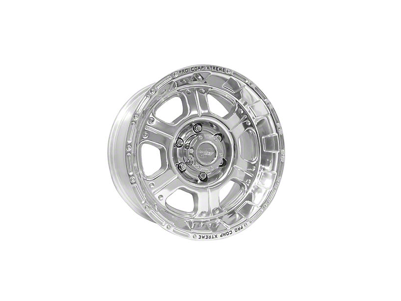 Pro Comp Wheels Series 1089 Wheel, Polished, 5x5 - 17x8 (07-18 Jeep Wrangler JK; 2018 Jeep Wrangler JL)