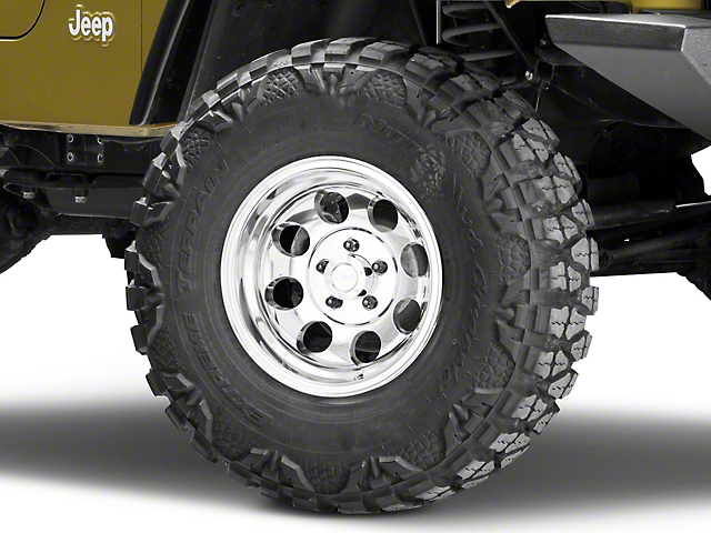Pro Comp Wheels Series 1069 Polished Wheel; 15x8 (97-06 Jeep Wrangler TJ)