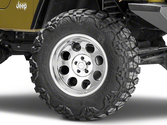 Pro Comp Wheels Series 1069 Polished Wheel - 17x9 (87-06 Jeep Wrangler YJ & TJ)