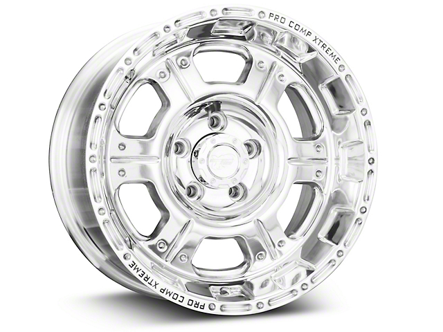 Pro Comp Wheels Series 1089 Polished Wheel - 16x8 (87-95 Jeep Wrangler YJ)