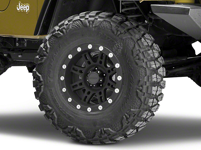 Pro Comp Wheels 31 Series Stryker Matte Black Wheel; 15x8 (97-06 Jeep Wrangler TJ)