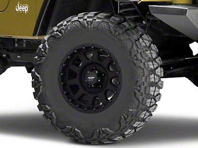 Pro Comp Series 7032 Flat Black Wheel - 16x8 (87-06 Jeep Wrangler YJ & TJ)