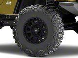 Pro Comp Wheels 32 Series Bandido Flat Black Wheel; 16x8 (97-06 Jeep Wrangler TJ)