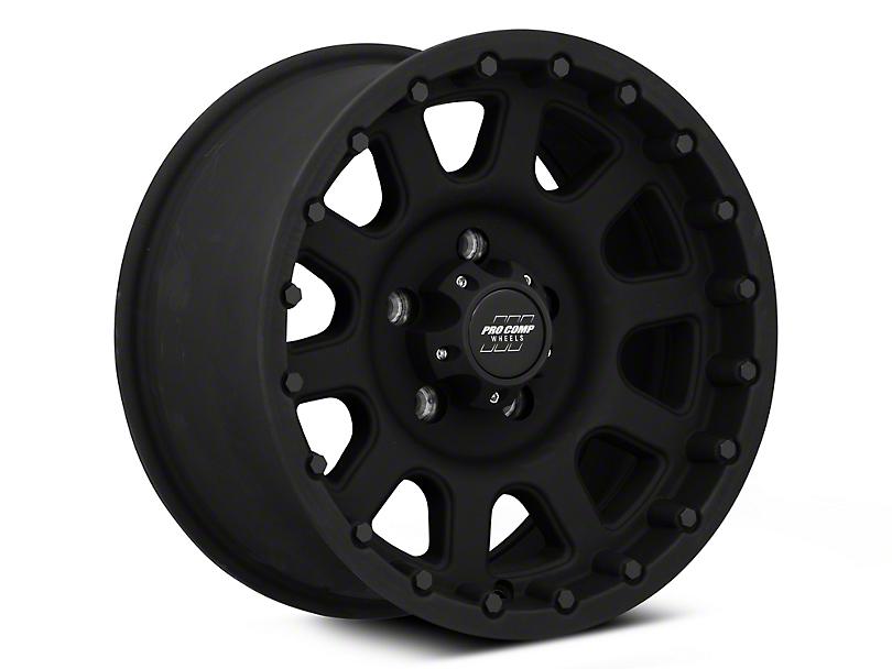 Pro Comp Wheels Series 7032 Flat Black Wheel - 16x8 (87-95 Jeep Wrangler YJ)