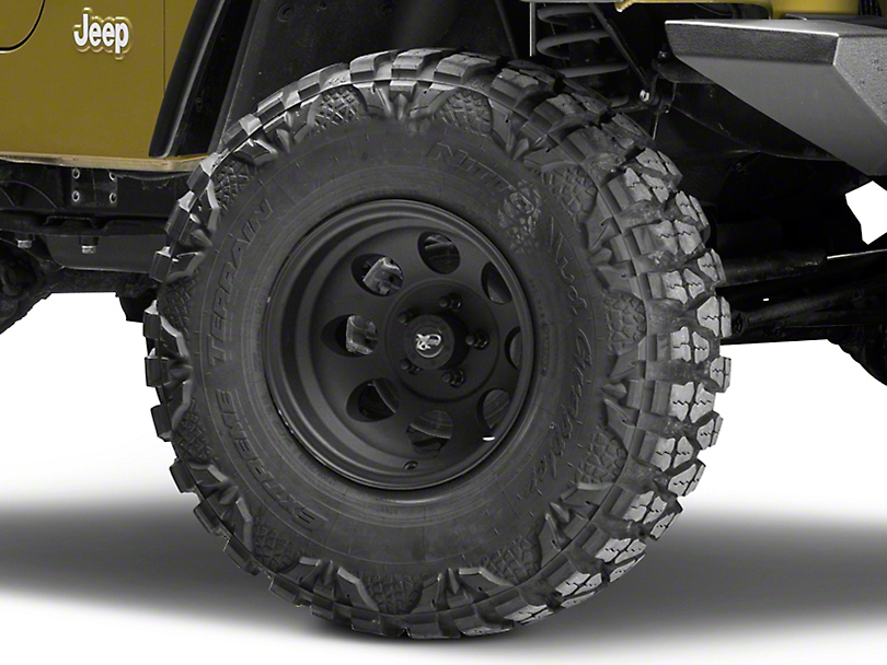 Pro Comp Wheels Series 7069 Flat Black Wheel - 15x8 (87-06 Jeep Wrangler YJ & TJ)