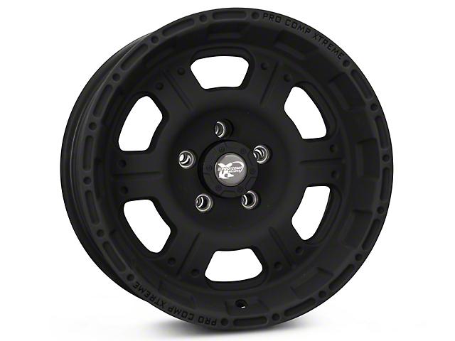 Pro Comp Wheels Series 7089 Black Wheel - 16x8 (87-95 Jeep Wrangler YJ)