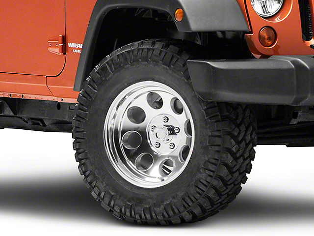 Pro Comp Wheels Series 1069 Polished Wheel; 17x9 (07-18 Jeep Wrangler JK)