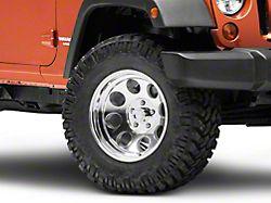 Pro Comp Wheels Series 1069 Polished Wheel; 17x9 (07-18 Jeep Wrangler JK)