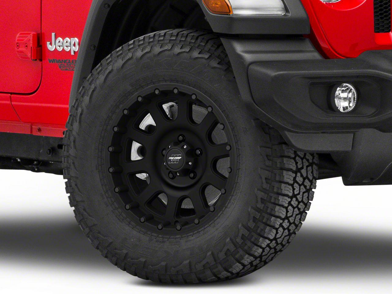 Pro Comp Wheels Alloy Series 7032 Flat Black Wheel - 17x9 (18-19 Jeep Wrangler JL)