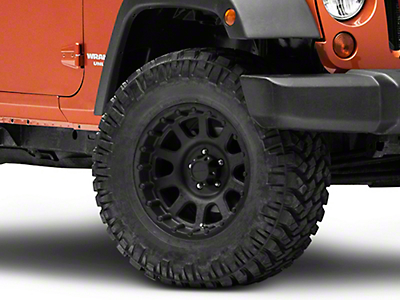 Pro Comp Alloy Series 7032 Flat Black Wheel - 17x9 (07-18 Jeep Wrangler JK; 2018 Jeep Wrangler JL)